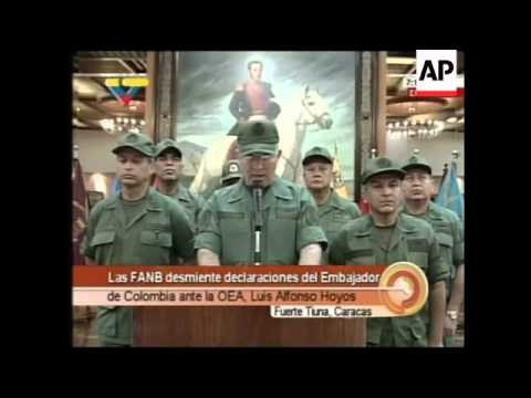 NEW Reaction to Chavez severing diplomatic relations with Colombia