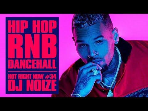 🔥 Hot Right Now #34  Urban Club Mix January 2019   New Hip Hop R&B Rap Dancehall Songs DJ Noize