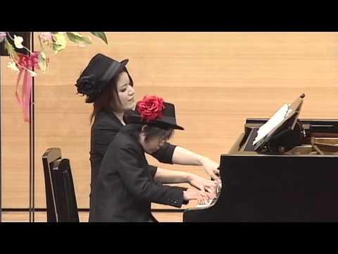 連弾:キャラバンの到着/ルグラン 【石田ピアノ教室 詩音の会ピアノ・コンサート】
