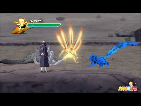 Naruto Shippuden: Ultimate Ninja Storm 3 - Obito vs Naruto Boss...