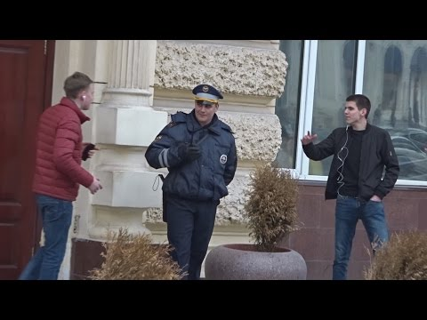 Джарахов - БЛОКЕРЫ / ПРАНК над полицией и прохожими !!!