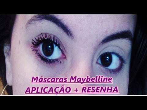 Máscaras Maybelline: Resenha + Aplicação
