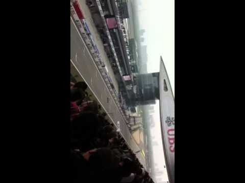 F1 Chinese GP_arrival of Rosberg, Button & Hamilton