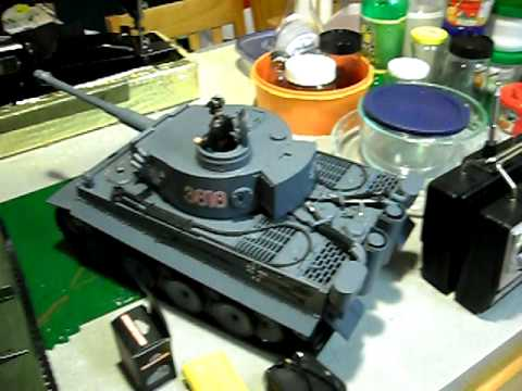 RC 1/16 tank Heng long tanks review part three