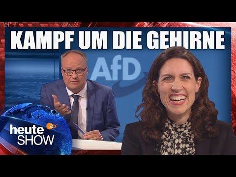 Schüler sollen ihre Lehrer melden, fordert die AfD Hamburg | heute-show vom 28.09.2018