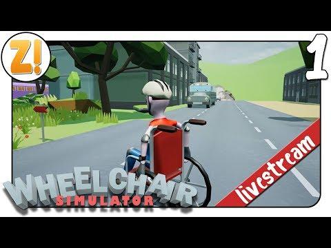 Rollstuhl Simulator: Das Leben im Rollstuhl! #01 | Let's Play [DEUTSCH][WHEELCHAIR SIMULATOR]