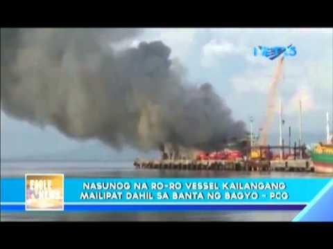 Burned vessel in Ormoc Sea must be transferred