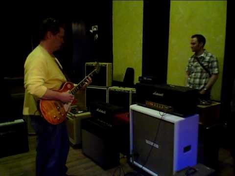 2010 Amp Sho' Marshall Handwired 1959 HW Demo w Michael Dowdle on Les Paul