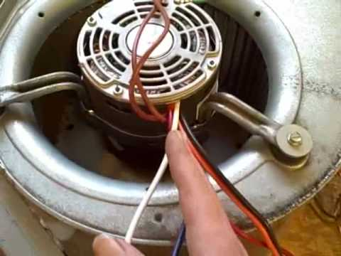 anatomy of a blower motor replacement youtube Gas Furnace Wiring