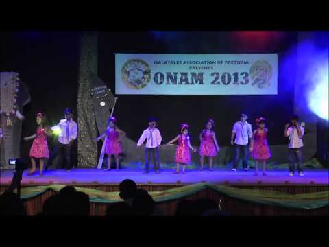 Pre School Dance Joni Mone, Chettikulangara, Opa Gangam Style   Map Pretoria Onam 2013 video