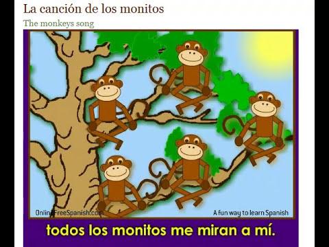 los monitos - the monkeys song