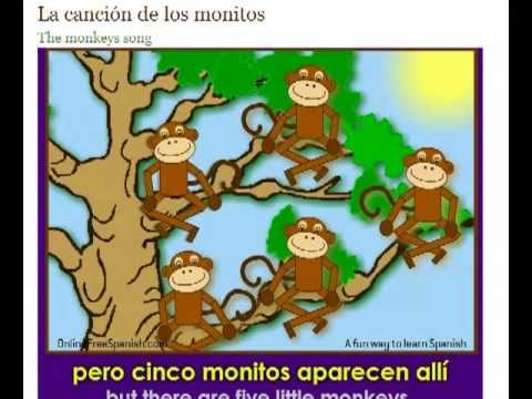 los monitos - the monkeys song
