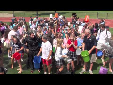 2014-08-22 - ALS Ice Bucket Challenge - Cascia Hall Preparatory School