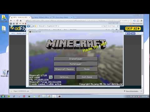 How To Easily: Install Mo Creatures & Morph Server Forge Minecraft 1.7.10