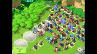 Boom Beach — JessieZX7 attacking world top #1, 1719vp, warriors