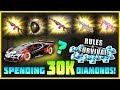 30,000 DIAMONDS ON NEW UPDATE IN RULES OF SURVIVAL, LUCKY OPENING!! NOVA?!?!