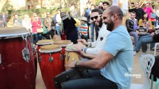 THE PERCUSSION SHOW Jamming In Road 9 Maadi