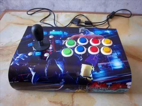 PALANCA JOYSTICK ARCADE PARA PC . PLAY STATION 1 . PS2 . PS3 ( USB ) KING OF FIGHTERS 13