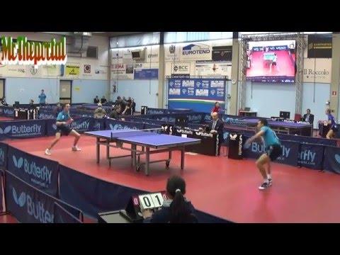 Table Tennis Italian Championships 2016 - Mihai Bobocica Vs Marco Rech Daldosso -