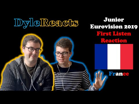 Junior Eurovision 2019 - France - REACTION #DyleReacts