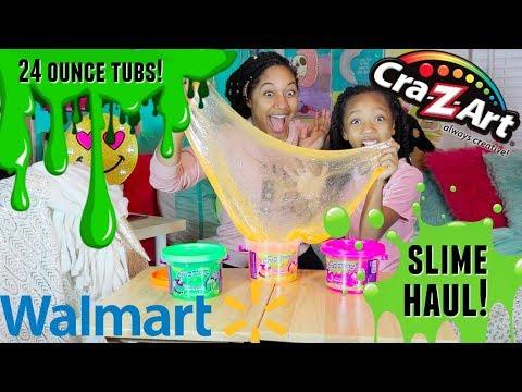 Walmart Slime Haul. Jumbo Cra-Z-Art Cra-Z-Slimy Slime!