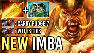 OMG! New Imba 7.20 Radiance Pudge vs PRO Anti-Mage Late Game Battle Epic Blind Hook 96% Dota 2