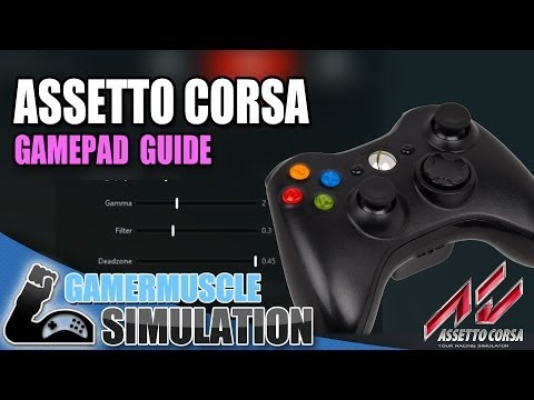 ASSETTO CORSA GAMEPAD GUIDE - GamerMuscle Simulation