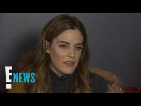 How Does Riley Keough's Husband React to Sex Scenes? | Celebrity Sit Down | E! News thumbnail