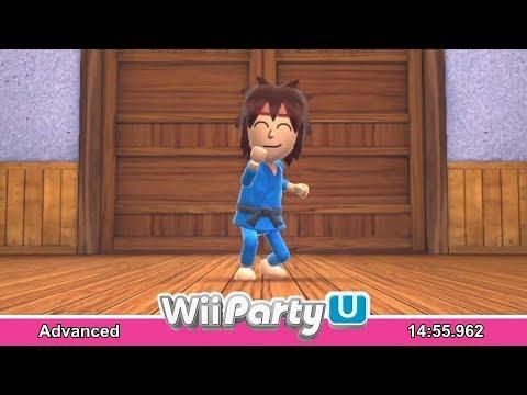 [SPEEDRUN] Wii Party U - Dojo Domination Advanced in 14:55;962 (Second Attempt)
