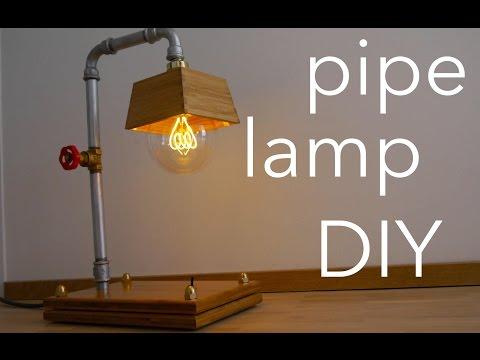 DIY Industrie Lampe Selbst Gemacht - Pipe Lamp How To - MrHandwerk