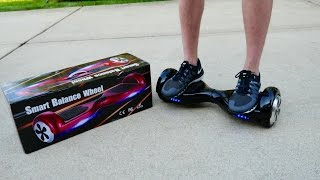 Hoverboard Unboxing & First Ride! (Self Balancing, 2-Wheel) Smart Electric Scooter