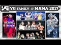 [NEWS] MAMA 2017 with BIGBANG, BLACKPINK, WINNER & iKON ʕ•ᴥ•ʔ YGigabytes No.1 #YG