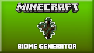 GENERATE A CUSTOM BIOME in only one command! [Minecraft 1.8]