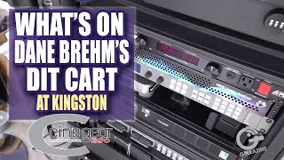 What's on Dane Brehm's DIT Cart at Kingston