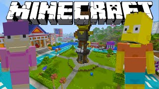 Minecraft xbox - The Simpsons - Cops and Robbers