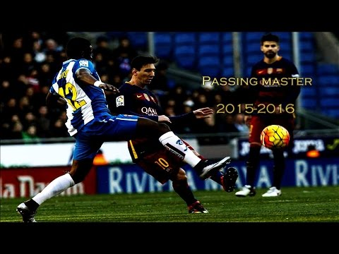 Lionel Messi ● Passing Master - Passes & Assists 2016 | HD