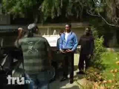 Guy Michael Jackson Kicks The Repo Man Right In The Ass After Trying To Take His Car Away! Video