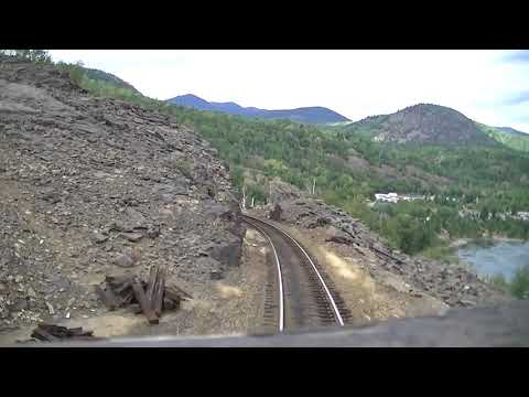 Kootenay Valley Railway (Canadian Pacific) Cabride - Trail to Nelson, BC