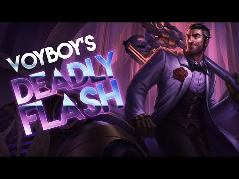 """Voyboy in """"What an idiot to die to Draven Ult.."""""""