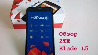 """ZTE Blade L5 - Смартфон в номинации """"цена-качество""""."""