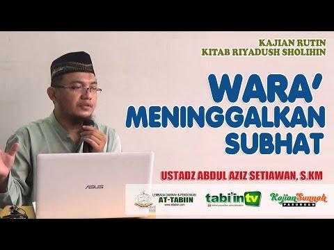 Hadiisul Ifki: Pelajaran Kisah Fitnah Kepada Ummul Mukminin Aisyah - Ustadz Abdul Aziz, S.KM