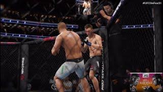 UFC® On Fox 31   Edson Barboza vs. Dan Hooker   Fight Simulation