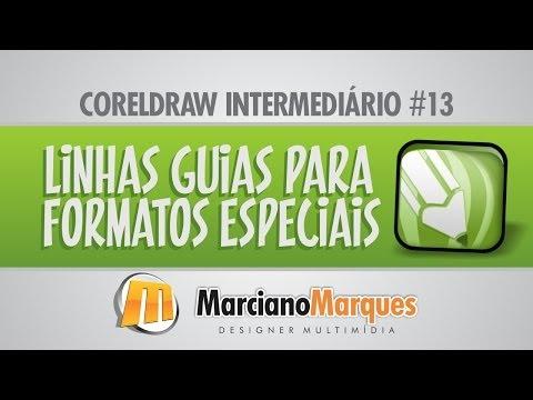 Linhas Guias para formatos Especiais // CorelDRAW Intermediário #13