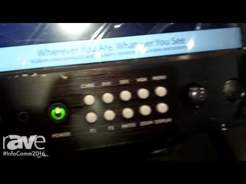 InfoComm 2016: RGBlink Intros CP3072 All-in-One Scaler and Mixer