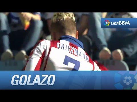 Golazo de chilena de Griezmann (0-1) en el Deportivo de la Coruña - Atlético de Madrid