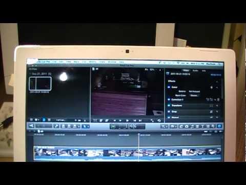 Apple MacBook running Windows 7 & OS X Lion