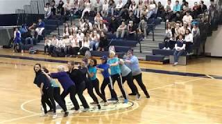 2017 Ram Pride Pep Rally~ Dancing with the Staff~ Class of 2018