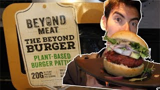 BEYOND MEAT BURGER! PLANT-BASED VEGAN REVIEW: Cooking with Sage Canaday