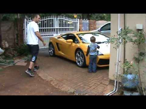 Lamborghini school run