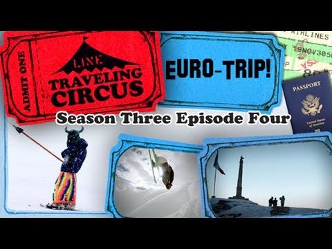 LINE Traveling Circus 3.4 Euro-Trip!